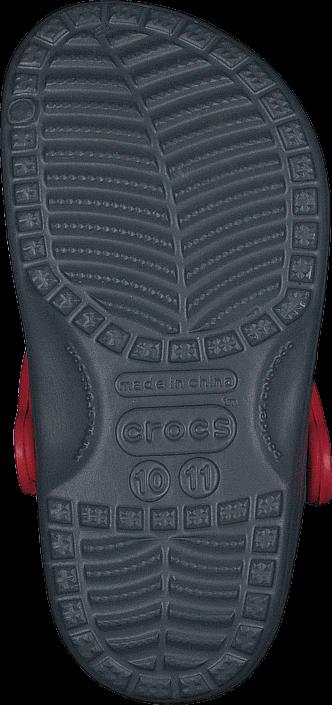Crocs Classic McQueen Clog K Charcoal/True Red