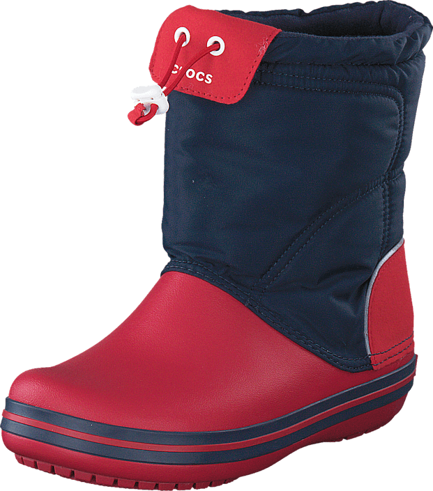 Crocs Crocband LodgePoint Boot K Navy/Red