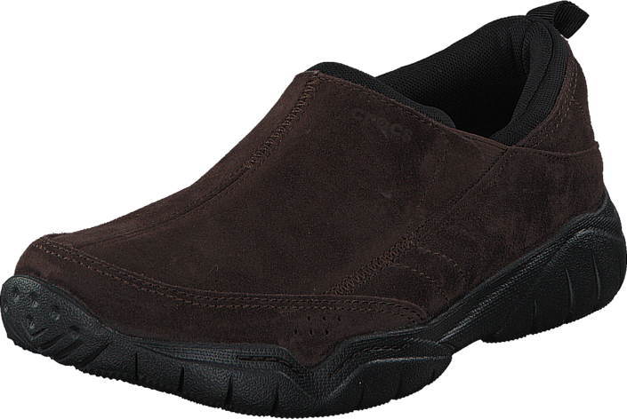 Crocs - Swiftwater Suede Moc M Espresso/Black
