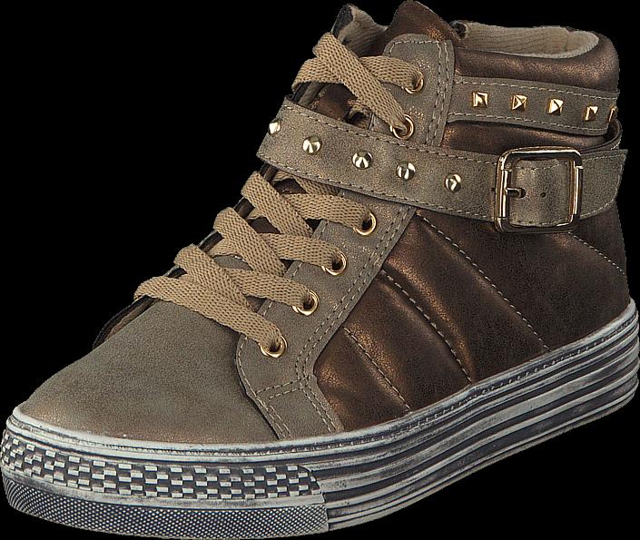Footway SE - Gulliver 423-0118 Gold, Skor, Sneakers & Sportskor, Chukka sneakers, Brons, Guld 437.00