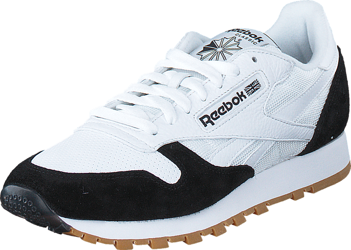 Reebok Classic Cl Leather Spp White/Black-Gum