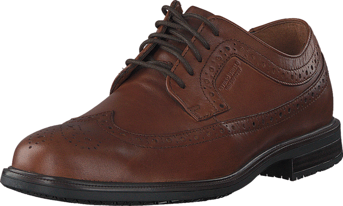 Rockport Essential Details Ii Wingtip Tan Antique Lea