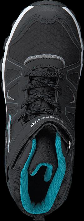 Bagheera - Nova Waterproof Black/Turquoise