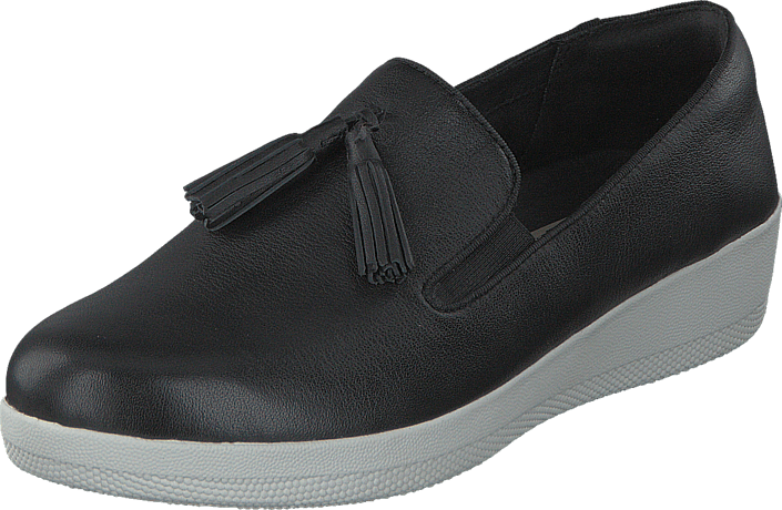 Fitflop - Tassel Superskate Black