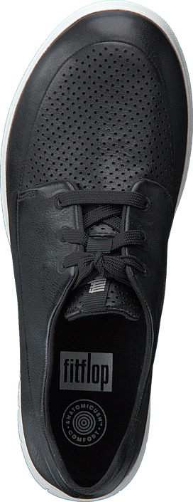 Fitflop Sporty-Pop Softy Sneaker Black/Anthracite