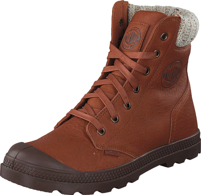 Palladium - Pampa Hi Knit Hi LP Ladies Mocha Bisque