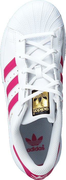adidas Originals - Superstar Foundation C Ftwr White/Bold Pink/White