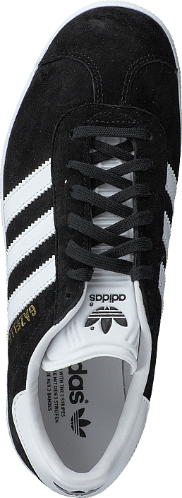 adidas Originals Gazelle Core Black/White/Gold Met.