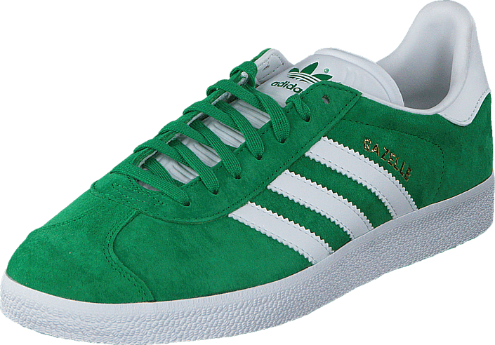 adidas Originals - Gazelle Green/White/Gold Met.