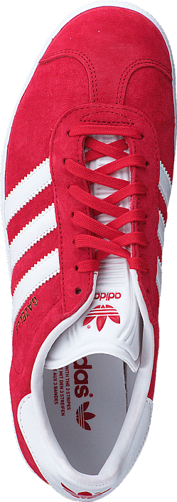 adidas Originals - Gazelle Power Red/White/Gold Met