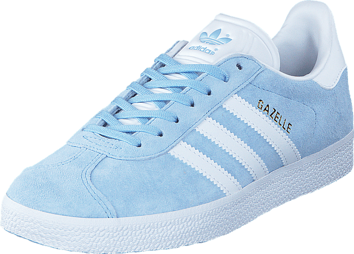 adidas Originals - Gazelle Clear Sky/White/Gold Met.