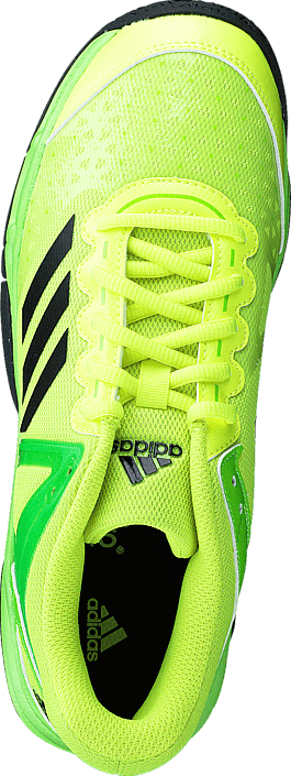 adidas Sport Performance Court Stabil J Solar Yellow/Black/Solar Green