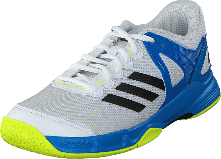 adidas Sport Performance - Court Stabil J Ftwr White/Black/Shock Blue