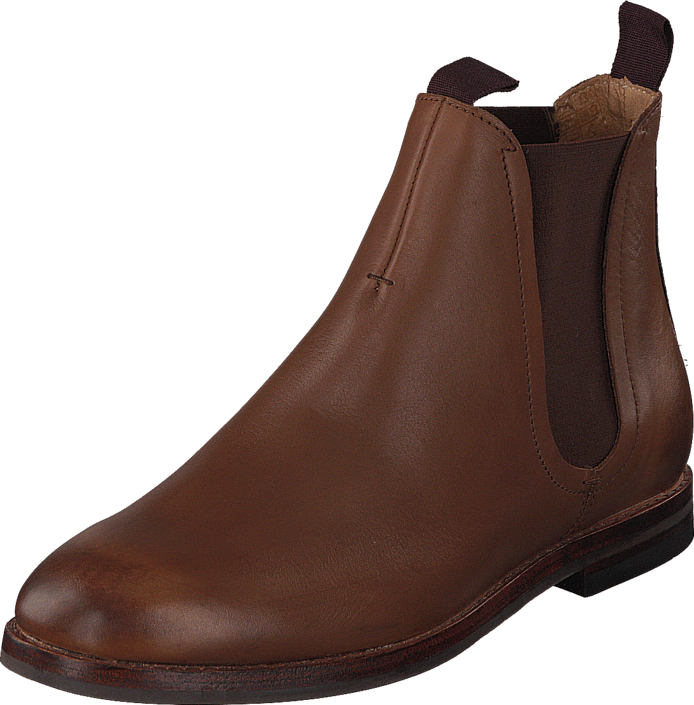 Footway SE - H by Hudson Tamper Calf Tan, Skor, Kängor & Boots, Chelsea Boots, Brun, Herr, 42 1447.00