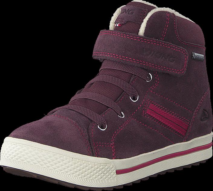 Footway SE - Viking Eagle III Gtx Aubergine/Fuchsia, Skor, Sneakers & Sportskor, Höga sneaker 897.00