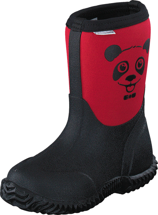 Vincent - Panda Neoprene Rasberry Red