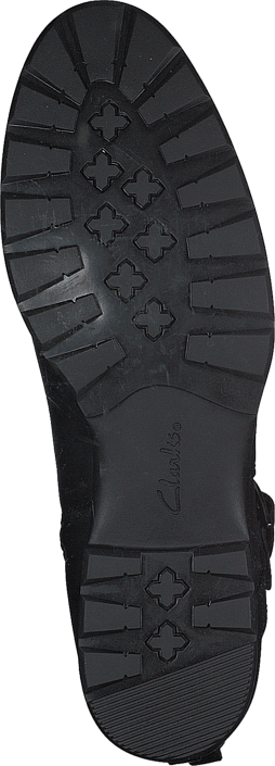 Clarks CheshuntBe GTX Black Leather
