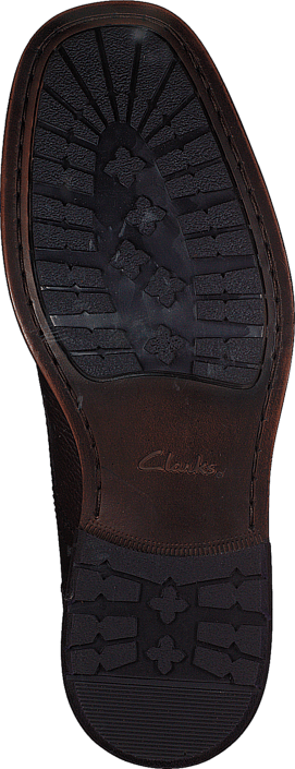 Clarks - Ashburn Top Dark Brown Leather