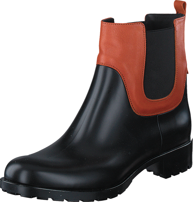 Blankens - The Rainy Season Black Rubber/Cognac