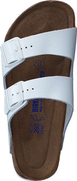 Birkenstock - Arizona SL Regular Soft Leather White