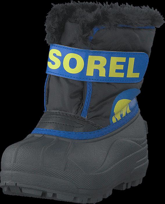 Sorel Children's Snow Commander 011 Black, Super Blue