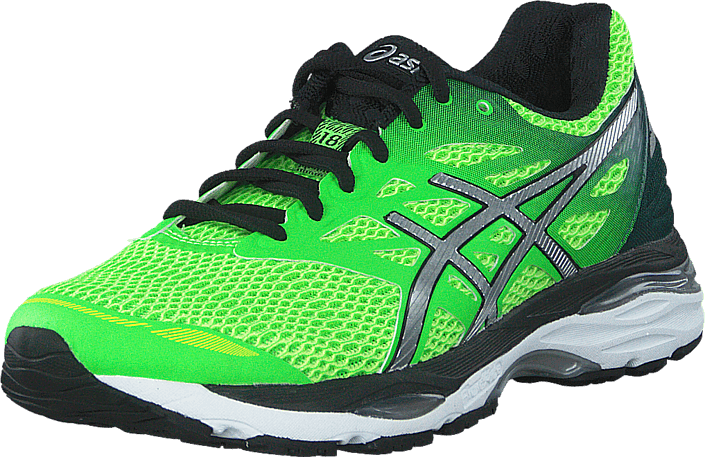 Asics - Gel-Cumulus 18 GreenGecko/Silver/SafetyYellow