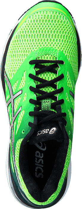 Asics - Gel Cumulus 18 GreenGecko/Silver/SafetyYellow