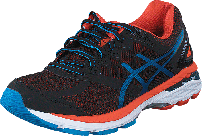 Asics - Gt-2000 4 Black/Blue Jewel/Flame Orange