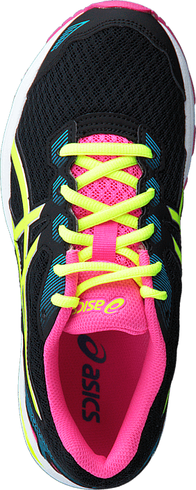Asics - GT 1000 5 Gs Black/Safety Yellow/Pink Glow