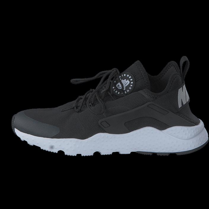kjøp nike wmns air huarache run ultra black/white svarta sko - nike air huarache rosa sølv