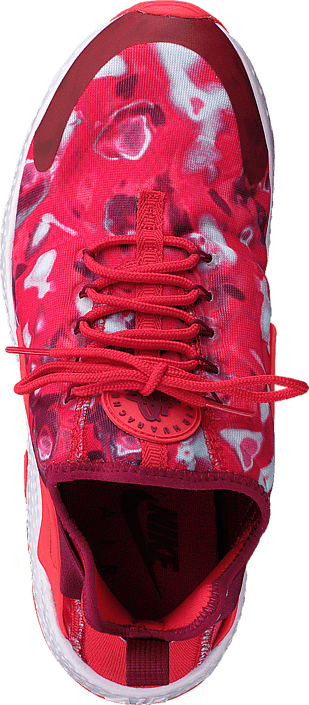 Nike - W Air Huarache Run Ultra Print Lt Crimson/Noble Red-Pearl Pin