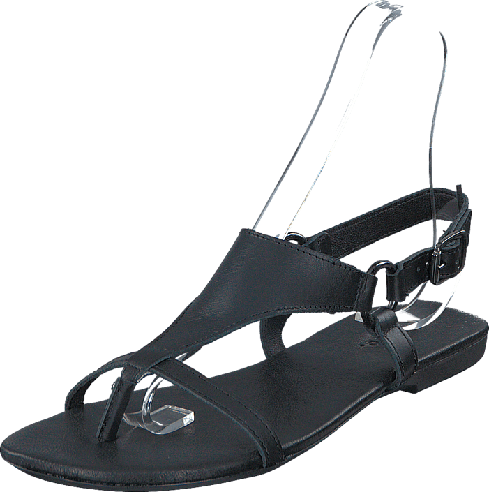 Bianco - Triangle Strap Sandal JFM17 10 Black