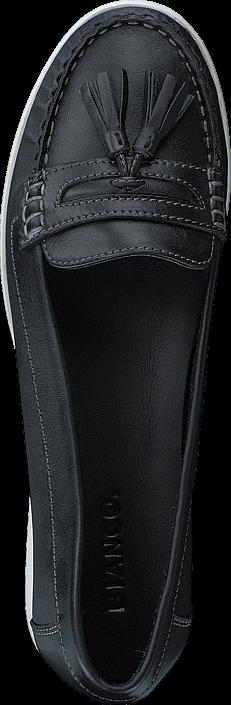 Bianco Tassel Tailor Loafer JFM17 10 Black