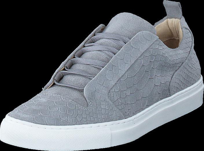 bianco-inn-embossed-shoe-jfm17-15-grey-kengaet-sneakerit-ja-urheilukengaet-varrettomat-tennarit-harmaa-miehet-40
