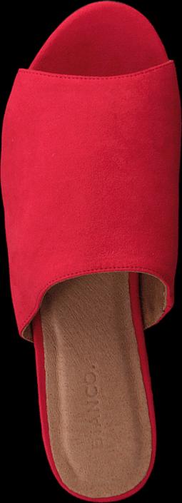 Bianco Suede Slip In AMJ17 45 Red