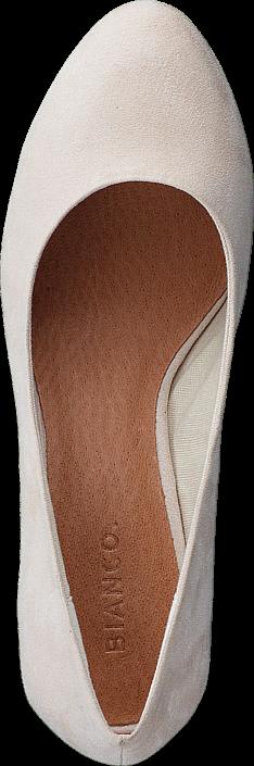 Bianco - Blok Heel Pump AMJ17 28 Sand
