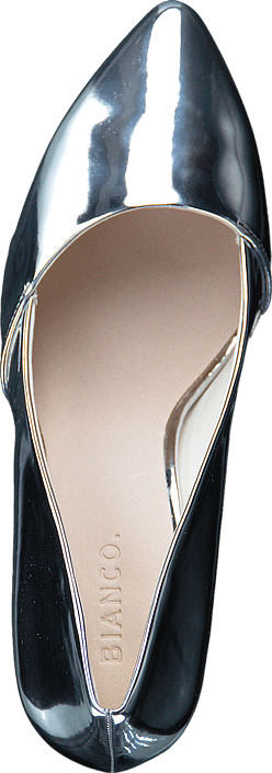Bianco - Loafer Stiletto AMJ17 91 Silver
