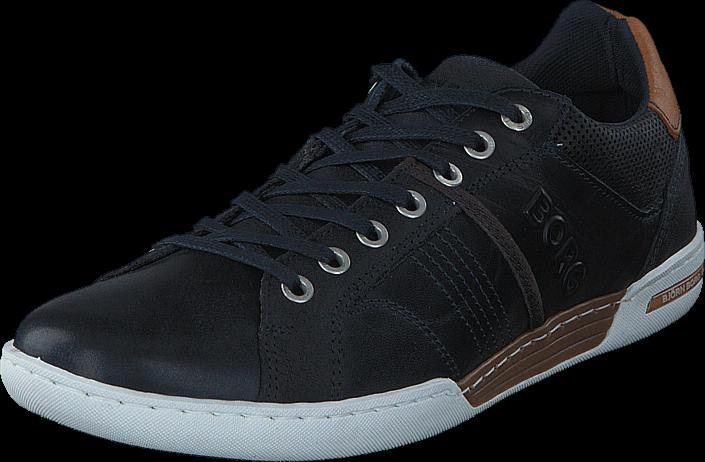Footway SE - Björn Borg Coltrane Navy/Brown, Skor, Sneakers & Sportskor, Sneakers, Blå, Herr, 897.00