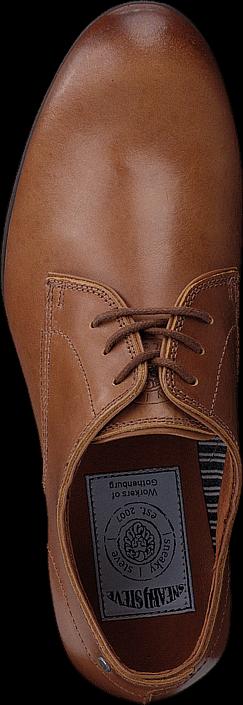 Sneaky Steve Markham Low Leather COGNAC