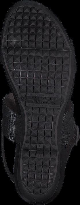 Wonders B-6607 Zincato Negro/Charol Negro
