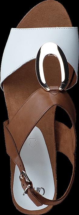 Caprice - 9-9-28308-28 308 Cognac/Wht Mul
