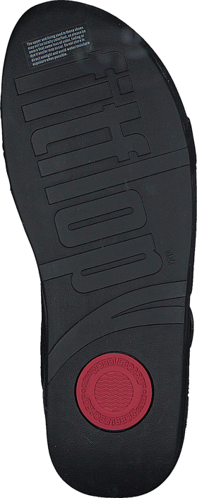Fitflop The Skinny Z-Cross Sandal All Black