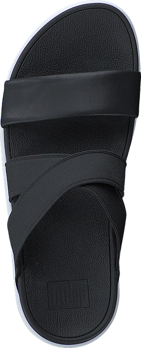Fitflop Loosh Crossover Slide Black