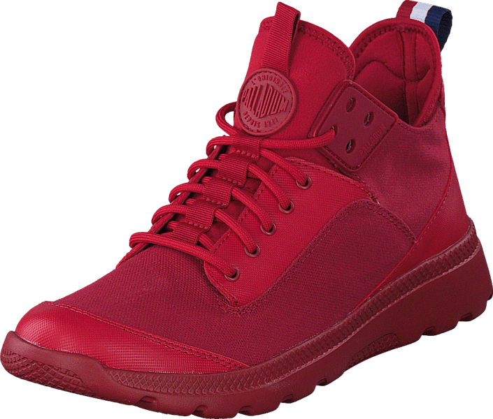 buy palladium desvilles red red shoes online