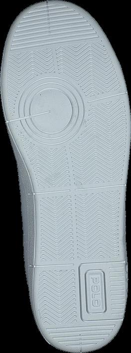Ralph Lauren Junior Bilton White- Navy Leather