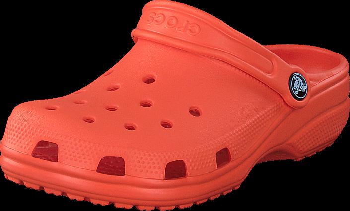 Footway SE - Crocs Classic Clog Kids Tangerine, Skor, Sandaler & Tofflor, Foppatofflor, Orang 237.00