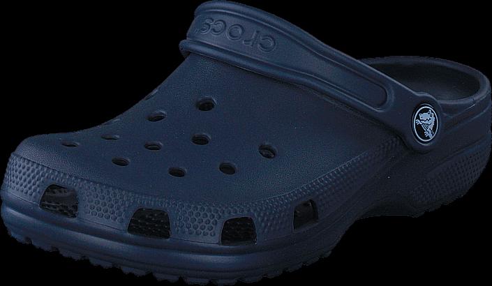 Footway SE - Crocs Classic Clog Kids Navy, Skor, Sandaler & Tofflor, Foppatofflor, Blå, Unise 237.00