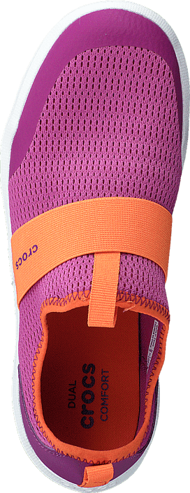 Crocs Swiftwater Easy-on Shoe K Party Pink/Tangerine