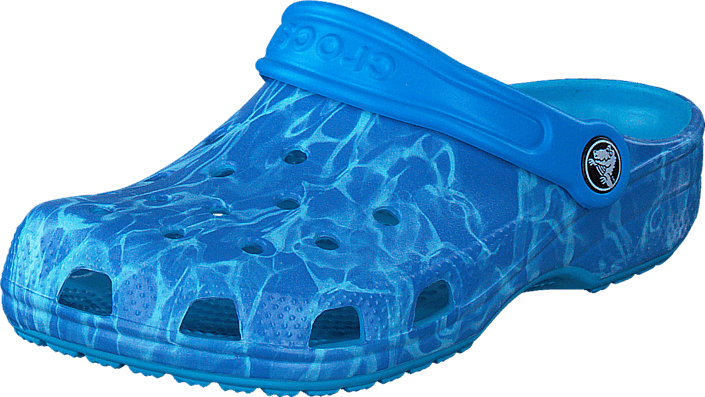 Footway SE - Crocs Classic Graphic Clog K Multi-Color Blue, Skor, Sandaler & Tofflor, Foppato 287.00