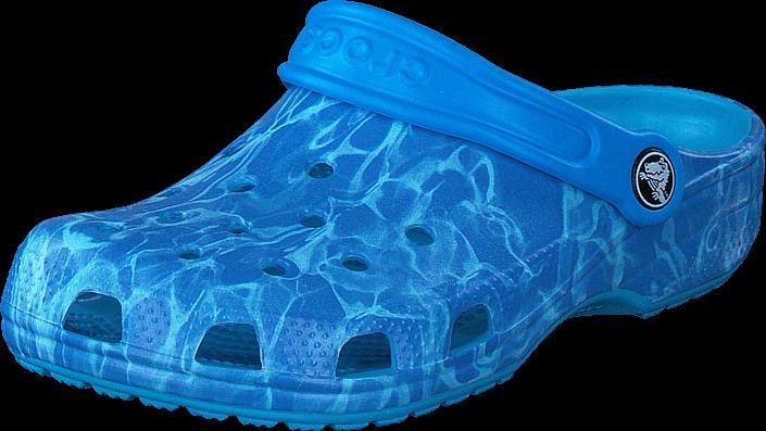Footway SE - Crocs Classic Graphic Clog K Multi-Color Blue, Skor, Sandaler & Tofflor, Foppato 287.00